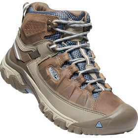 Keen Targhee III Mid WP Shoes Damen brindle/quiet harbor
